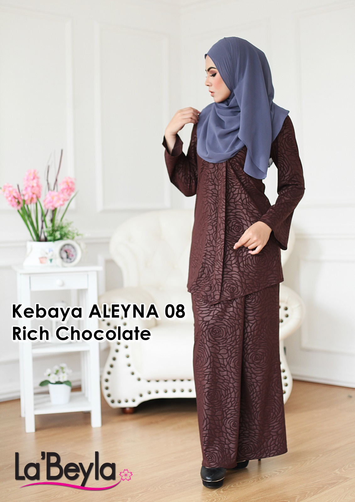 Kebaya Aleyna 08 - Rich Chocolate