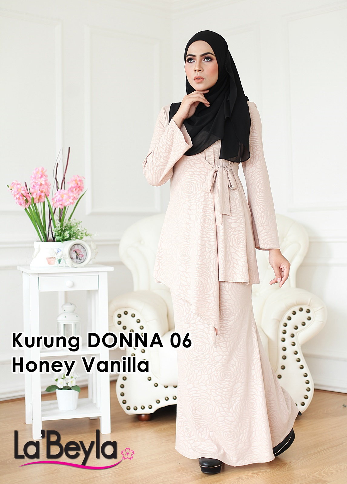 Kurung Donna 06 - Honey Vanilla