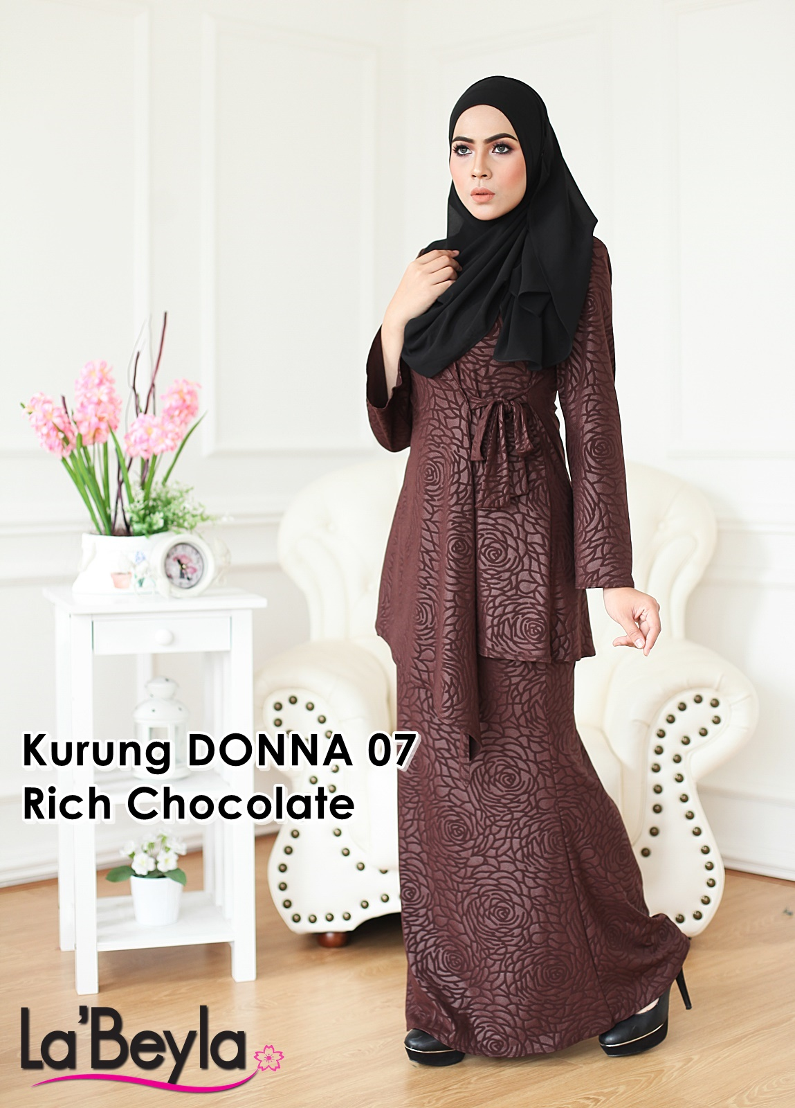 Kurung Donna 07 - Rich Chocolate