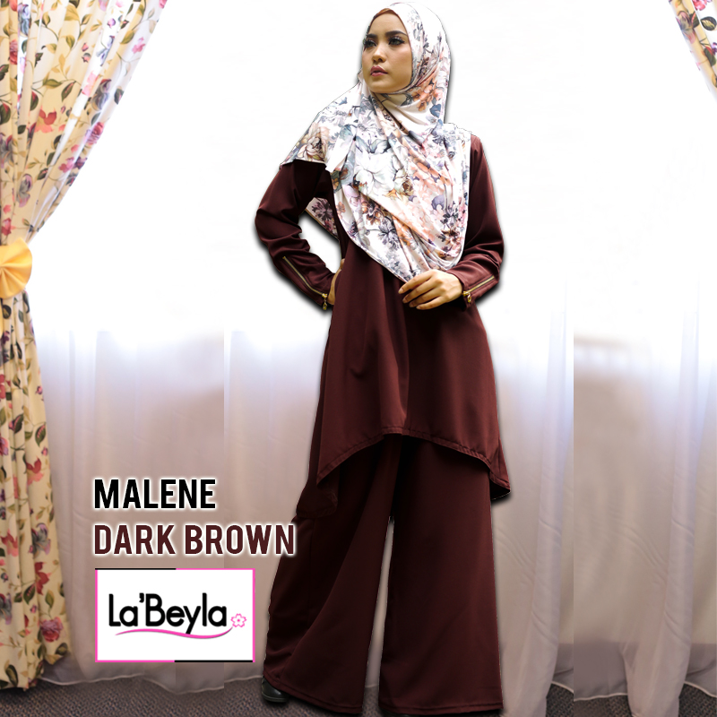 MALENE - DARK BROWN